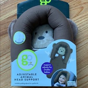 Go Adjustable Animal Head Support